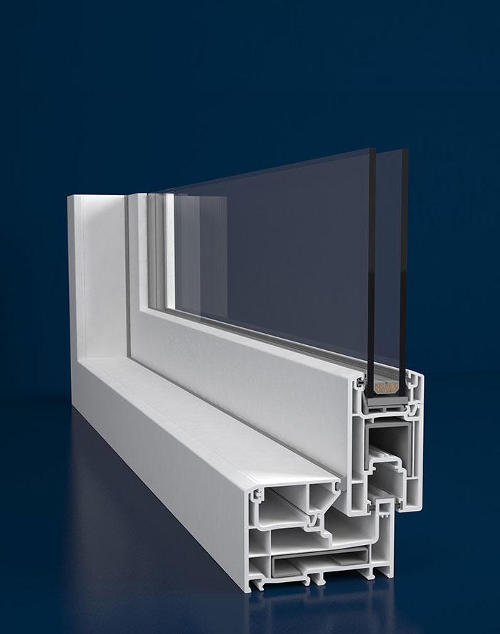 Upvc Windows Model System Poster Deceuninck Profiles